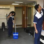 treinamento para equipe de limpeza
