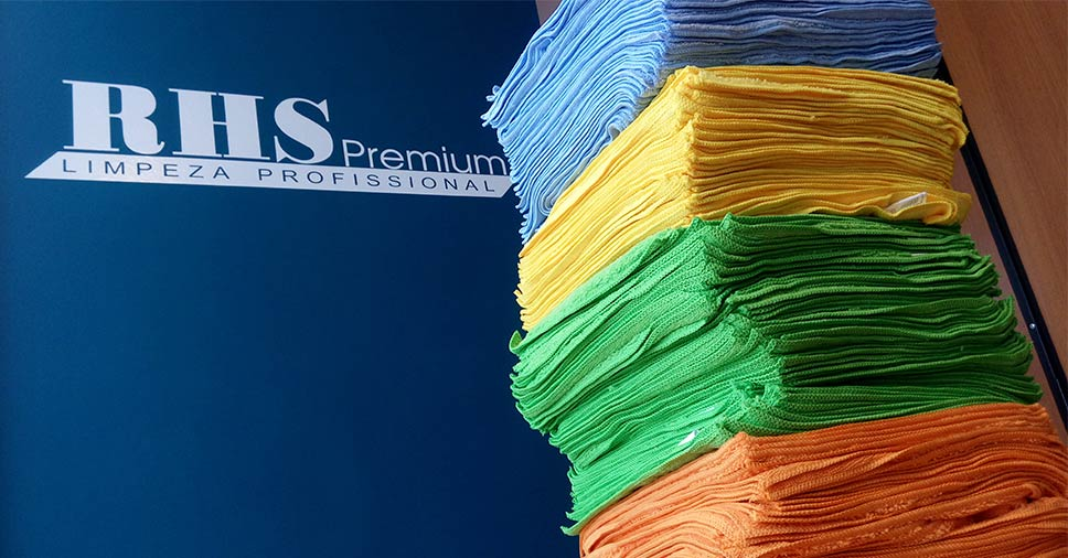Panos para limpeza: saiba quais a RHS Premium usa!